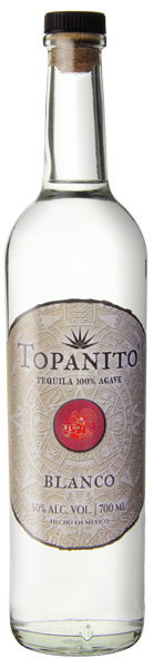 Topanito Blanco Tequila mit 50 Volumenprozent