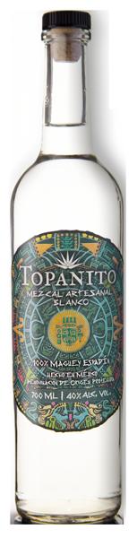 Topanito Mezcal Flasche mit 40 Volumenprozent